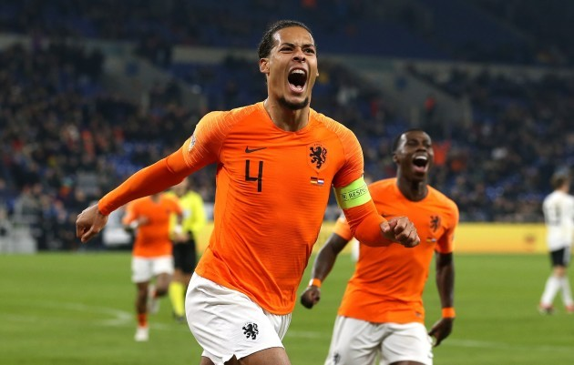firo: 19.11.2018, Football, Lander, National Team, Season 2018/2019, UEFA Nations League, GER, Germany - NED, Netherlands, Netherlands,