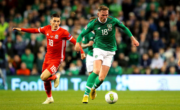 Aiden O'Brien and Harry Wilson