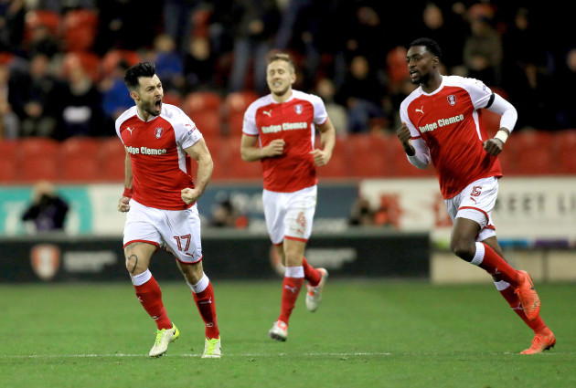 Rotherham United v Shrewsbury Town - Sky Bet League One - AESSEAL New York Stadium