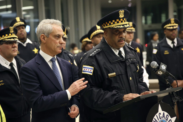 Rahm Emanuel, Eddie Johnson