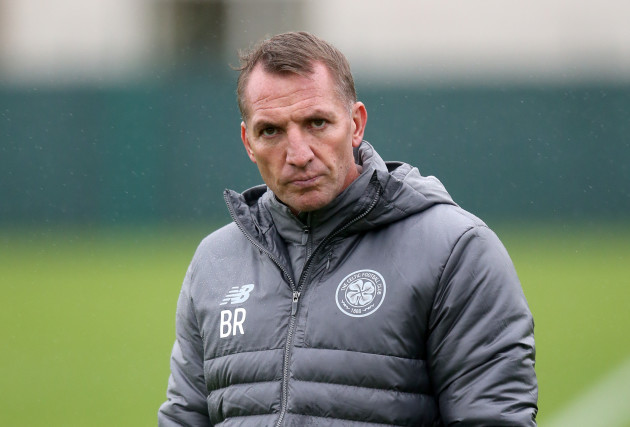Celtic Training Session and Press Conference - Lennoxtown