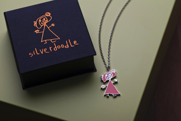 Gifted Silverdoodle pendant CP SM