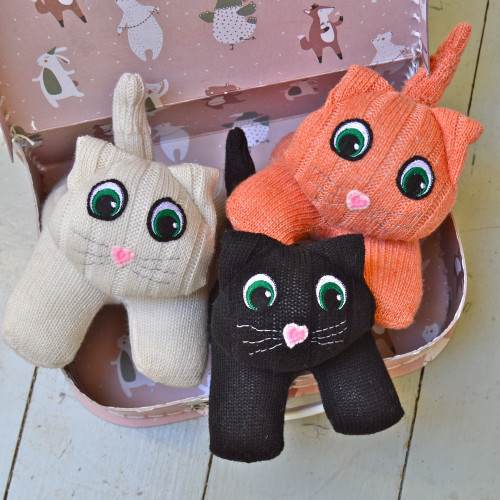 Gifted Red Rufus Sock Cats CP