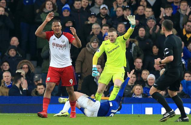 Everton v West Bromwich Albion - Premier League - Goodison Park