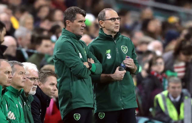 Martin O'Neill and Roy Keane File Photo