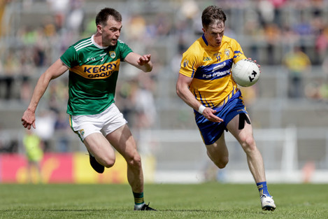 Eoin Cleary and Jack Barry