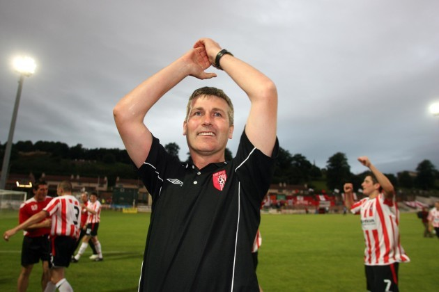 Derry Manager Stephen Kenny
