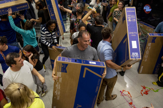 Brazil: Black Friday in Sao Paulo