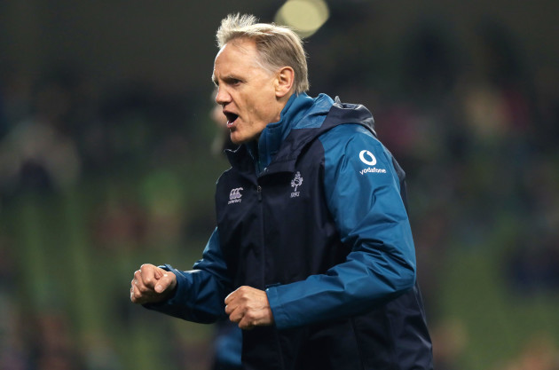 Joe Schmidt ahead of the game