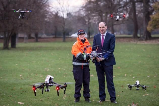 Commander avis minidrone parrot airborne et avis drone intelligent