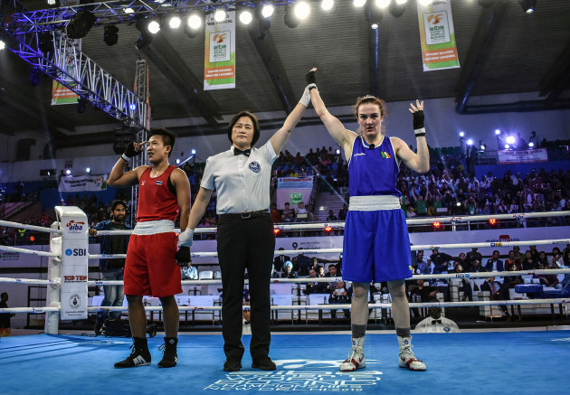 Kellie Harrington is victorious over Sudaporn Seesondee 24/11/2018
