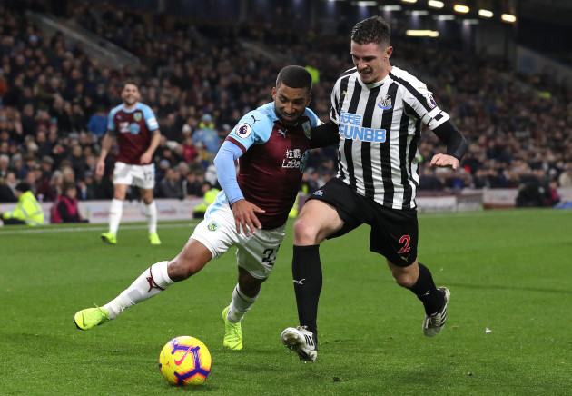 Burnley v Newcastle United - Premier League - Turf Moor