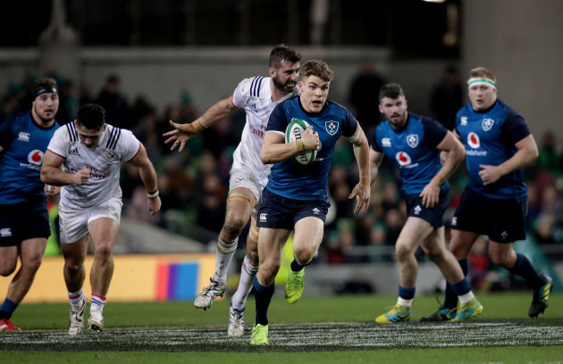 Ireland's Garry Ringrose