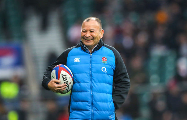 Eddie Jones ahead of the game