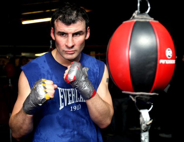 Boxing - Joe Calzaghe Open Workout - Abercarn