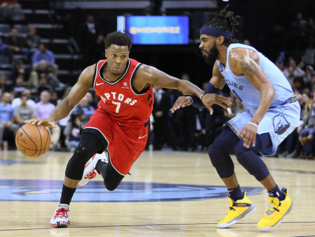 NBA: Toronto Raptors at Memphis Grizzlies
