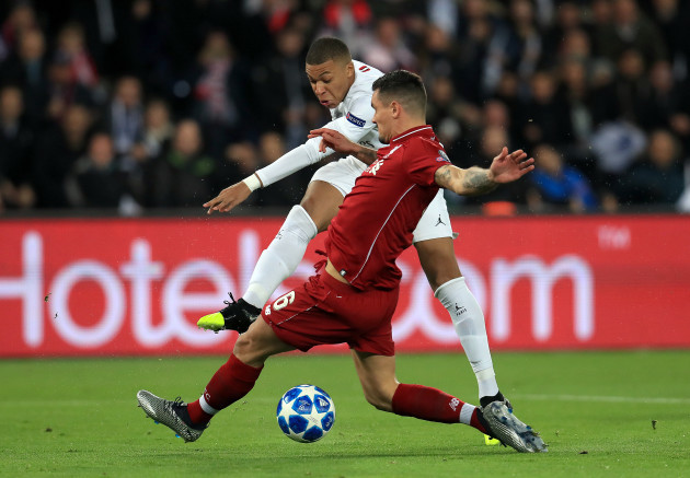 Paris Saint-Germain v Liverpool - UEFA Champions League - Group C - Parc Des Princes