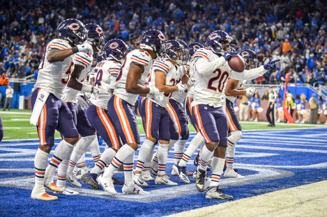 NFL: NOV 22 Bears at Lions