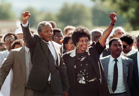Nelson Mandela is Released