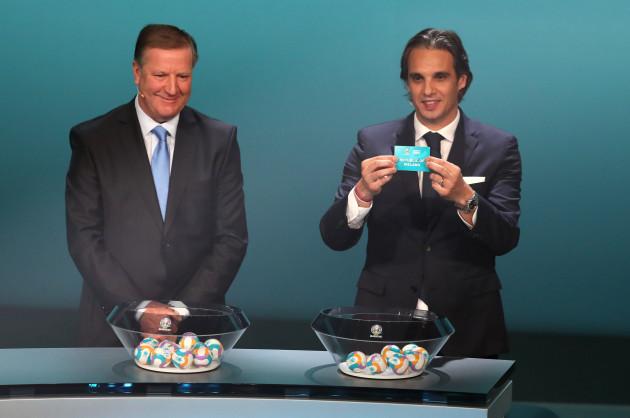 Euro 2020 European Qualifier Draw - Convention Centre Dublin
