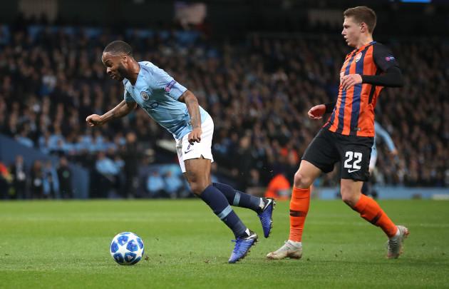 Manchester City v Shakhtar Donetsk - UEFA Champions League - Group F - Etihad Stadium