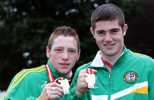 Ray Moylette and Joe Ward