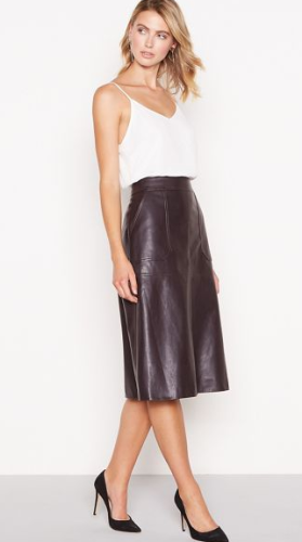 05fe7c4bf81 9 of the best faux leather midi skirts the high street has to offer ...