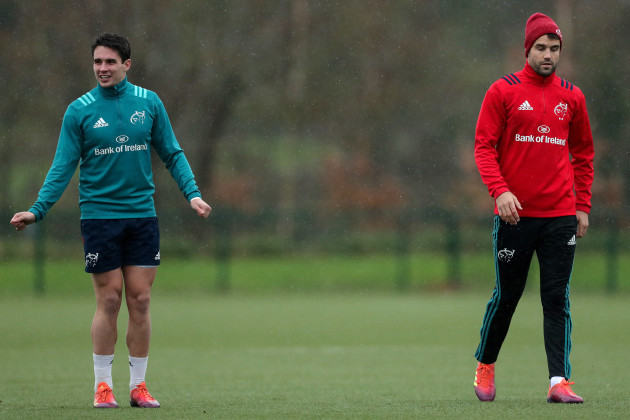 Joey Carbery and Conor Murray