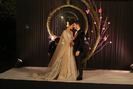 India: Wedding Reception Of Bollywood Actor Priyanka Chopra And American Singer Nick Jonas