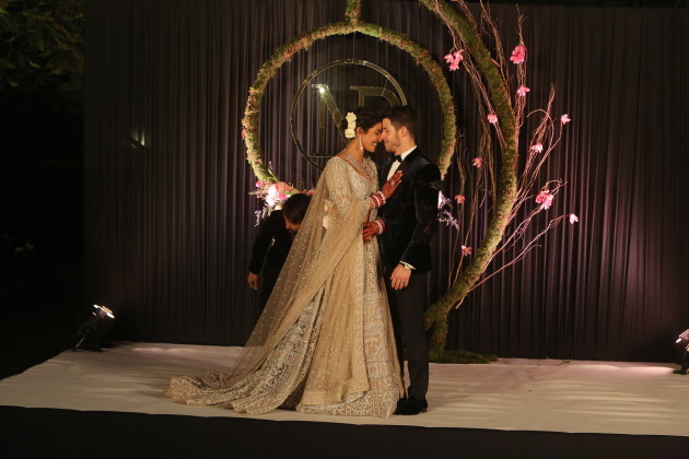 India: Wedding Reception Of Bollywood Actor Priyanka Chopra And American Singer Nick Jonas
