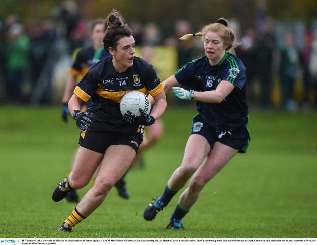 Foxrock Cabinteely v Mourneabbey - All-Ireland Ladies Football Senior Club Championship semi-final