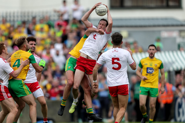 Colm Cavanagh and Michael Murphy