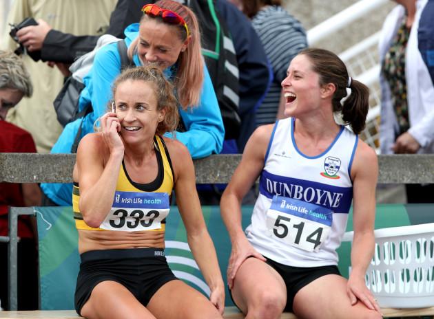 Kerry O'Flaherty, Sara Treacy and Michelle Finn