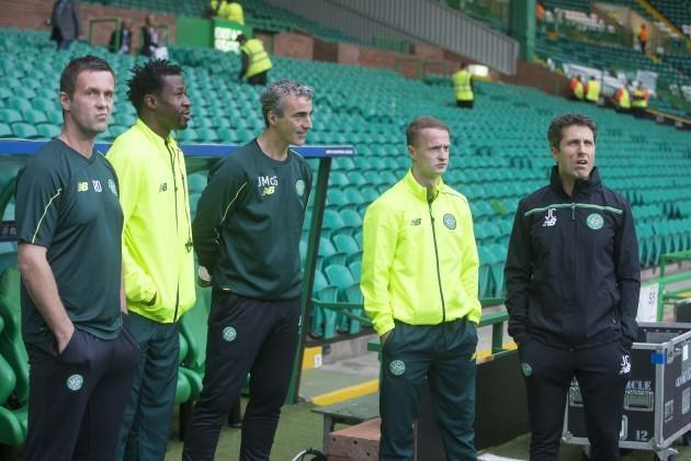 Soccer - UEFA Champions League - Qualifying - Play-off - Celtic v Malmo FF - Celtic Park