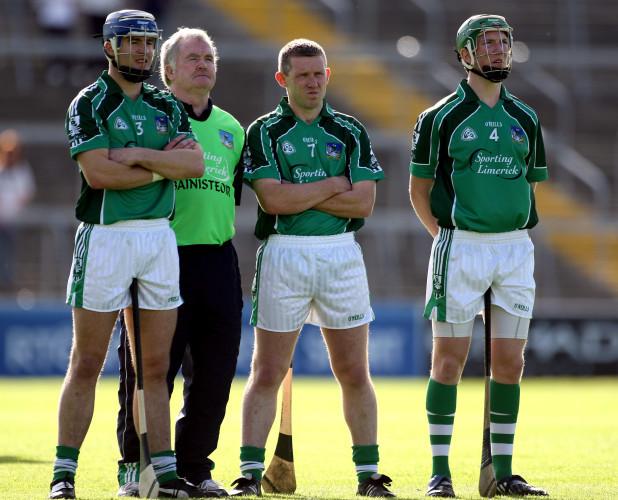 Stephen Lucey, Richie Bennis, Mark Foley and Seamus Hickey