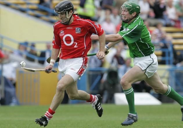 Ben O'Connor with Seamus Hickey