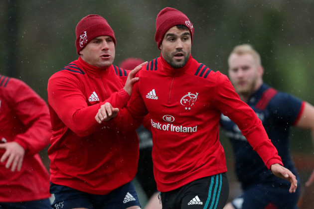 CJ Stander and Conor Murray