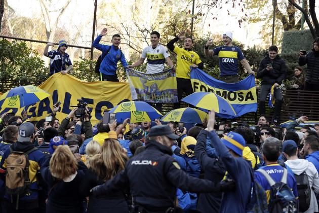 Spain Soccer Copa Libertadores Final