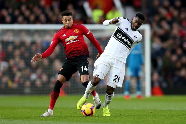 Manchester United v Fulham - Premier League - Old Trafford