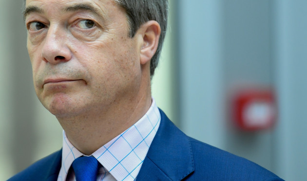 Nigel Farage - Leader of the Ukip party in the UK