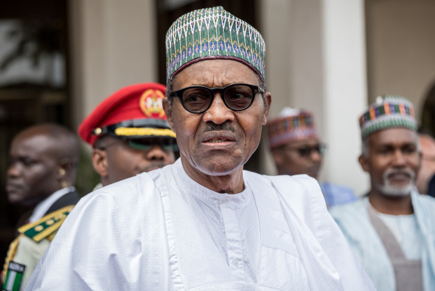 Chancellor Merkel visits Nigeria