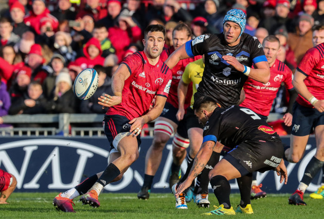 Conor Murray on the attack