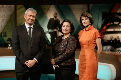 David McCullagh, Theresa Reidy & Sinead O'Carroll