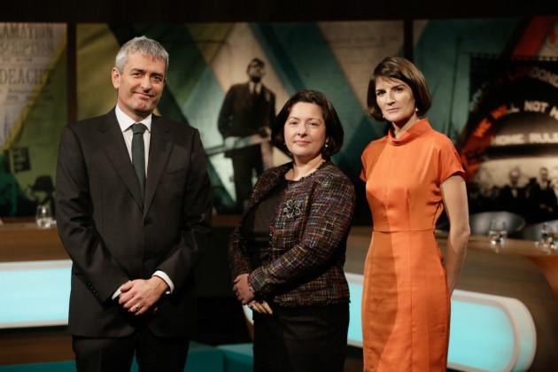 David McCullagh, Theresa Reidy & Sinead O'Carroll