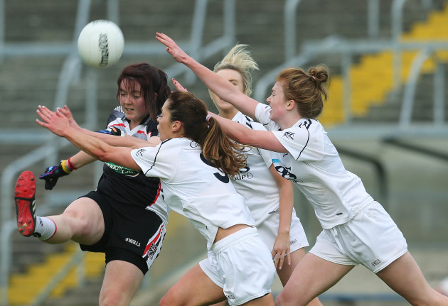 Katie Walsh gets a shot away