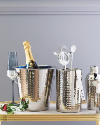 Hammered-Design-Champagne-Bucket-B