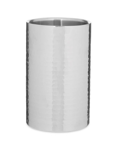 Stainless-Steel-Hammered-Wine-Cooler-A