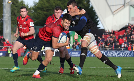 Conor Murray with Thibault Lassalle
