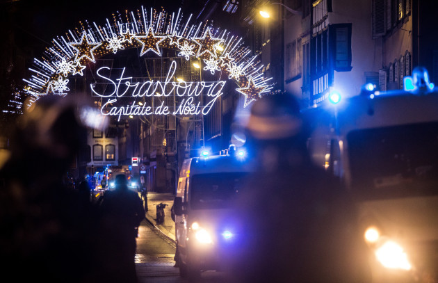 Attack near Strasbourg Christmas Market