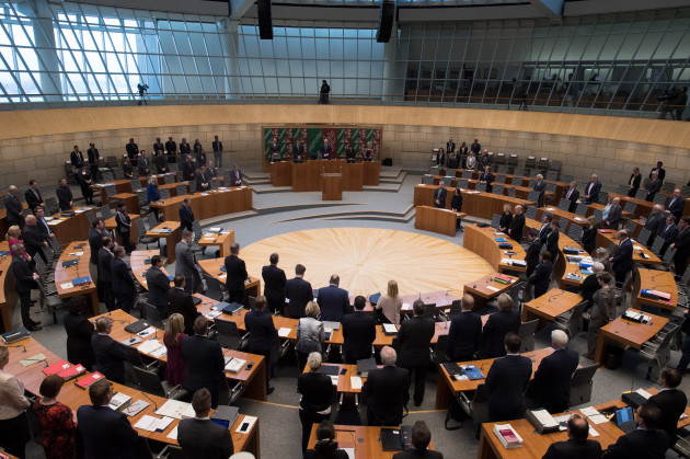 Session of the North Rhine-Westphalian State Parliament